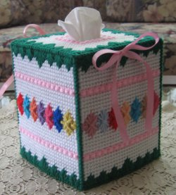Shells and Ribbon Tissue Box
