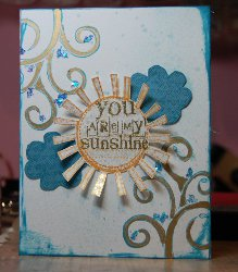 Sunshine Card Tutorial