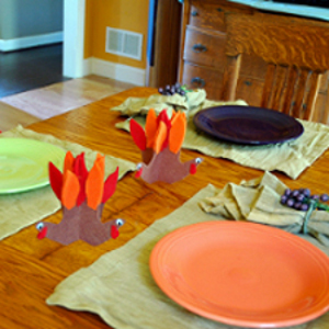 Turkey Table Accents