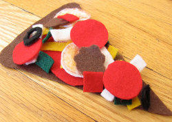 Felt Pizza Pieces