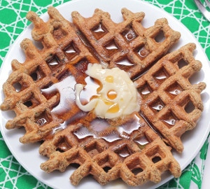 Amy's Favorite Cinnamon Sugar Waffles