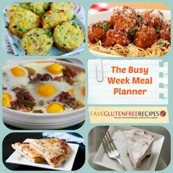 The Busy Week Meal Planner
