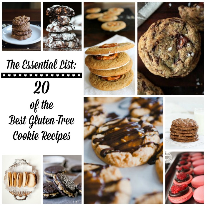 The Essential List: 20 of the Best Gluten Free Cookie Recipes