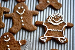 gingerbread people dairy free