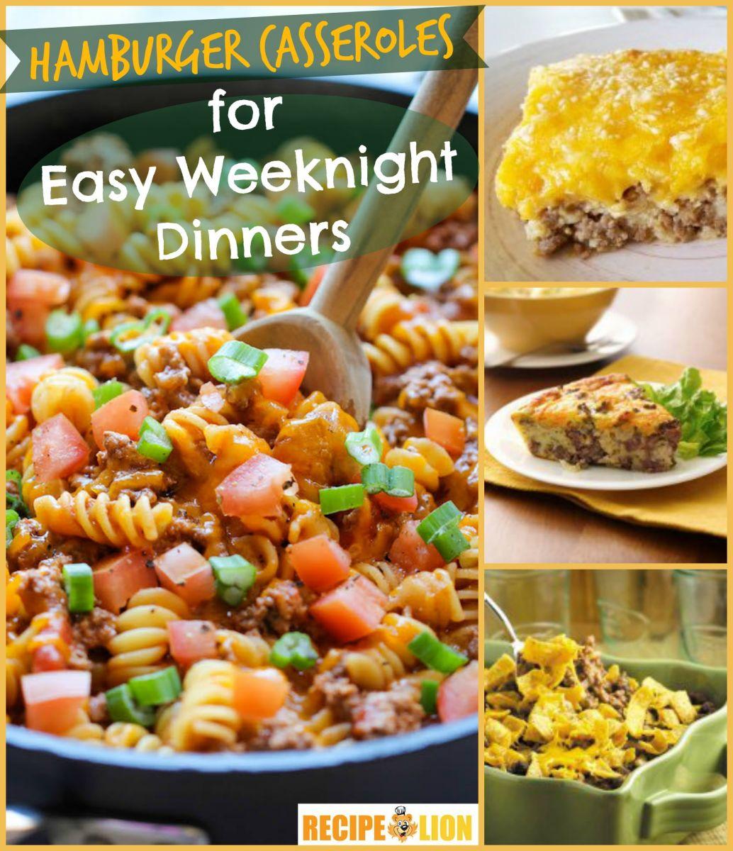 13 Hamburger Casserole Recipes For Easy Weeknight Dinners