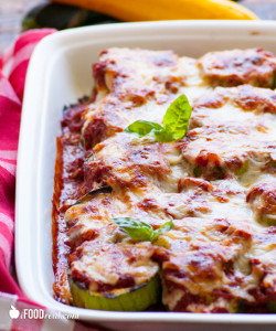 Light Grilled Zucchini Parmigiana