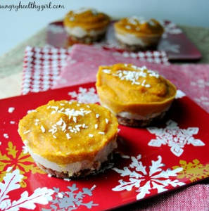No Bake Mini Pumpkin Tarts