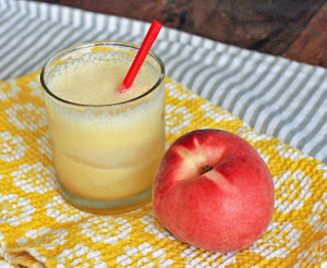 Peach Ginger Smoothie