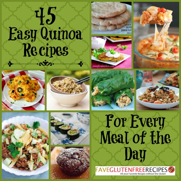 45 easy quinoa recipes for every meal of the day 45 easy quinoa recipes for every meal forumfinder Image collections