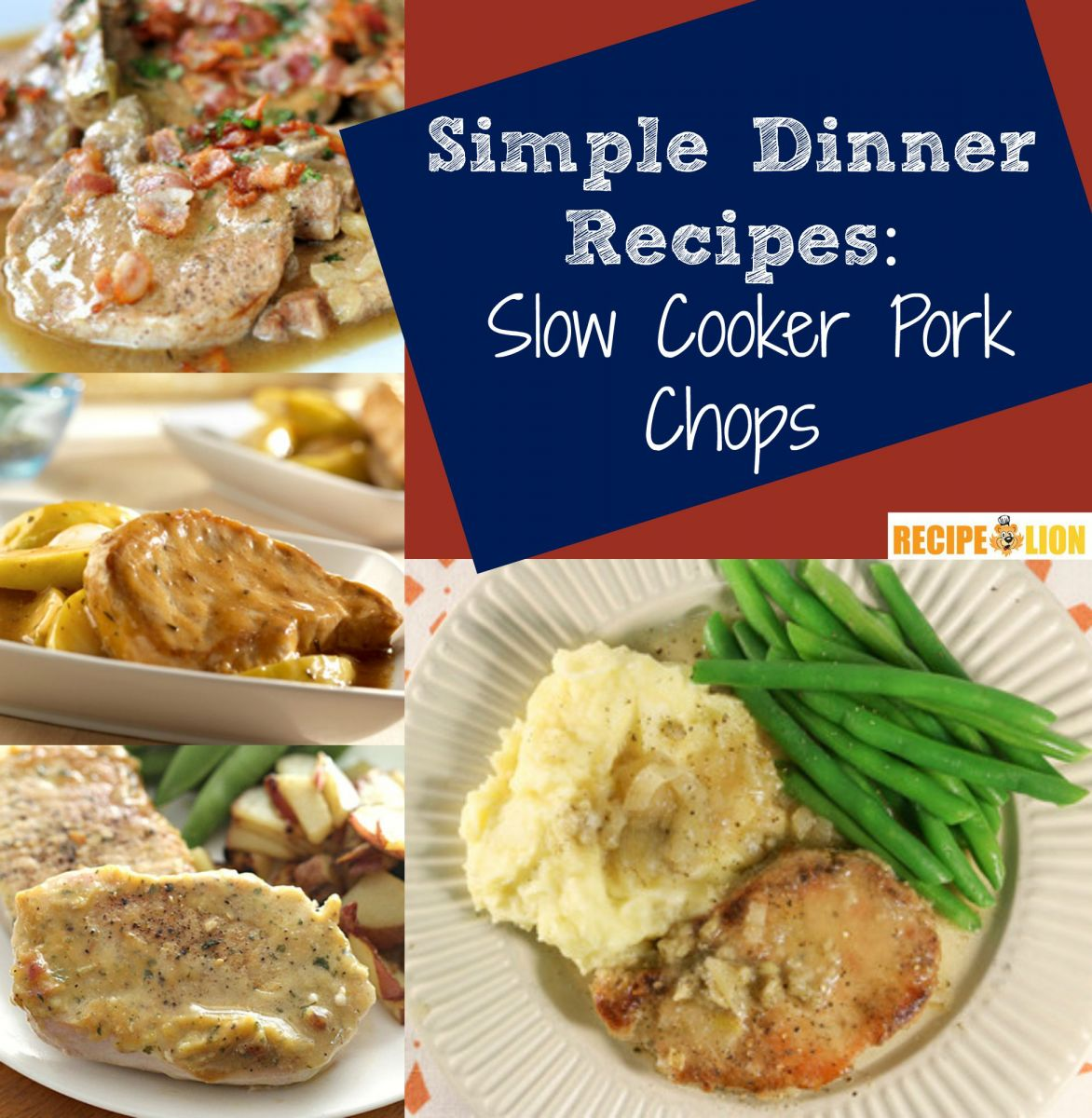 Easy Slow Cooker Pork Chops Recipes