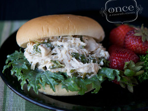 Slow Cooker Chicken Caesar Sandwhiches
