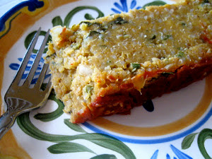 Sweet Potato Lentil Quinoa Meatloaf