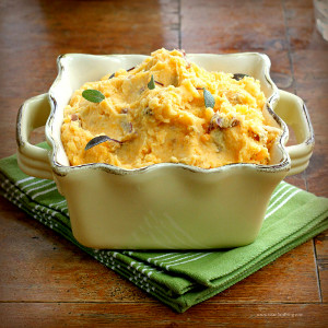 Sweet and Red Potato Mashed