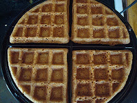 Whole Grain Sweet Potato Waffles