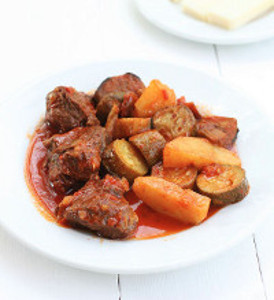 Beef Stew with Summer Vegetables