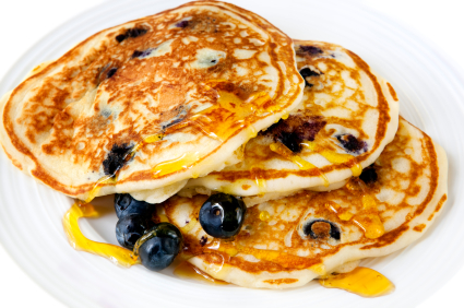 Stealth health 17 recipes that make cooking light easy blueberry pancakes buttermilk blueberry pancakes healthy food forumfinder Image collections