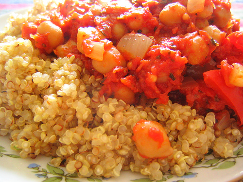 Chickpea Ratatouille with Quinoa