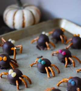 Spooky Spider Truffles