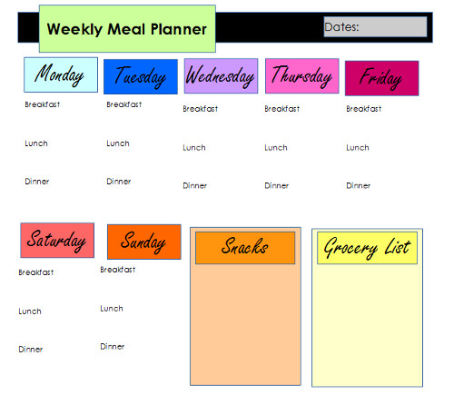 Healthy easy meal plans for weight loss
