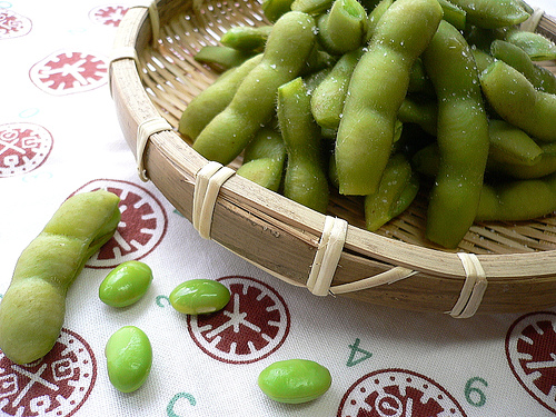 Edamame Soy Beans in Pods