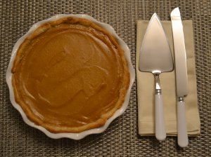 Idiot Proof Pumpkin Pie