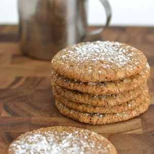 Soft Gingerbread Spice Cookies