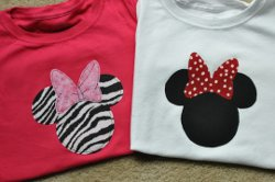 Minnie Mouse Applique Tutorial Favequilts Com