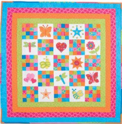 applique baby quilt designs