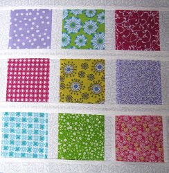 Brady Bunch Inspired Quilt Block