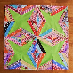 String Star Quilt Block