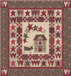 Christmas Wishes Applique Quilt