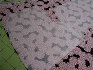 Candy Jar Quilted Table Runner