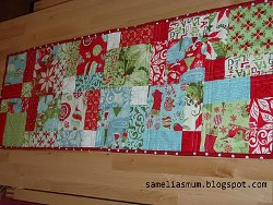 Quick and Easy Christmas Table Runner
