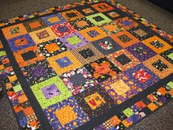 Halloween Squared Quilt