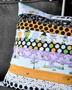 Too Cute to Spook Halloween Pillow