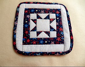 Independence Day Potholder