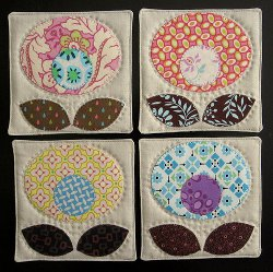 Pop Flower Coasters
