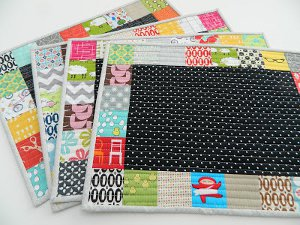 Perfect Patchwork Placemats