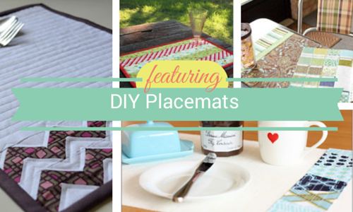 15 DIY Placemats: Dress Up Your Dinner Table | FaveQuilts.com