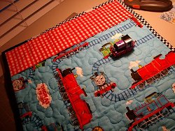 Thomas The Train Quilted Play Mat Favequilts Com