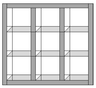 Changing Seasons Attic Windows Quilt