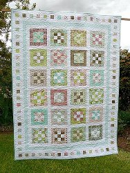 Groves of Gardens Nine Patch Quilt