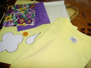 How to Applique a T-shirt Materials