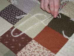 How To Tie A Quilt Favequilts Com