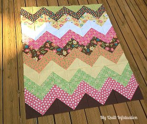Easy Peasy Chevron Quilt Pattern