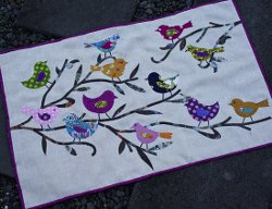 Birds And Branches Applique Wall Quilt Favequilts Com