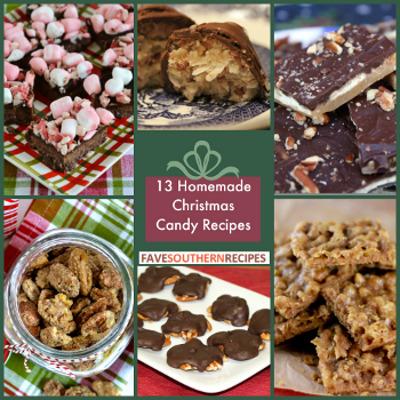 13 Homemade Christmas Candy Recipes | FaveSouthernRecipes.com