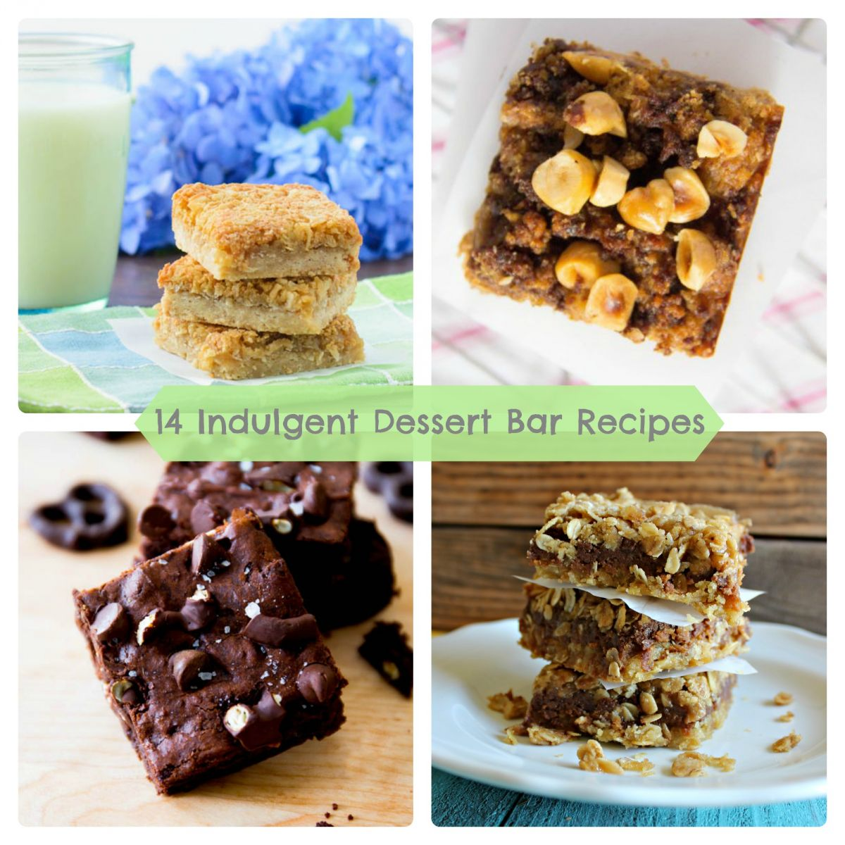 14 Indulgent and Delectable Dessert Bar Recipes