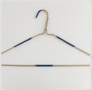 Felt Covered Wire Hangers