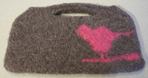 Felted Sparrow Handbag